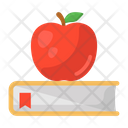 Healthy Education Food Learning Diet Book Icon