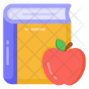 Food Education Healthy Education Healthy Learning Icon