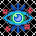 Healthy Human Eye Icon