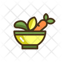 Mhealthy Food Healthy Food Die Food Icon