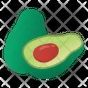 Healthy Food Avocados Fruit Icon