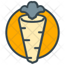 Healthy Food Carrot Icon