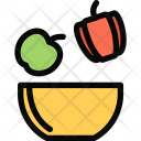 Healthy Food Athlete Icon