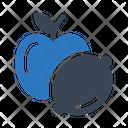 Apple Fruit Lemon Icon