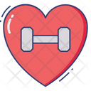 Heart Life Gym Icon