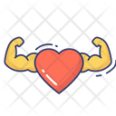 Healthy Heart Strong Heart Heart Icon