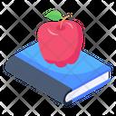 Healthy Knowledge Healthy Education Food Book Icon