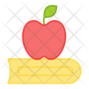 Healthy Education Healthy Knowledge Healthy Learning Icon