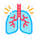 Healthy Lungs Color Icon