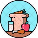 Healthy Meal Deit Food Healthy Food Icon