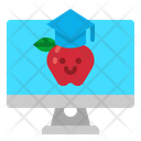 Learning Online Education Icon