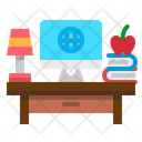 Desktop Desk Study Icon