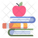School Education Apple Icon