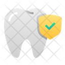 Healthy Thoot Tooth Dental Icon