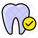 Healthy Tooth Dental Care Oral Health Icon