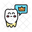 Healthy Tooth Color Icon