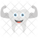 Healthy Tooth Smiling Icon