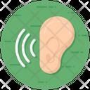 Hear Listen Ear Icon