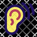 Hearing Ear Listen Icon