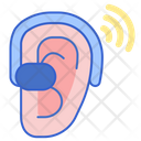 Hearing Aid Aid Ear Icon