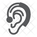 Hearing Aid Ear Icon