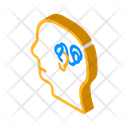 Cochlear Implant Isometric Icon