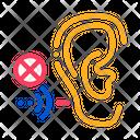 Hearing Impairment Aid Icon