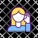 Impairment Deafness Decreased Icon
