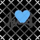 Heart Heatbeat Pulse Icon