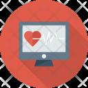 Heart Hurt Pulse Icon