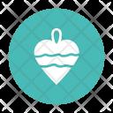 Heart Ornament Christmastree Icon