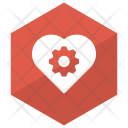 Heart Setting Config Icon
