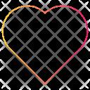 Heart Interface Like Icon