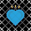 Romance Heart Favorite Icon