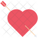 Heart Arrow Love Icon