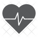 Heart Rate Pulse Icon