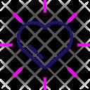 Date Romantic Heart Icon