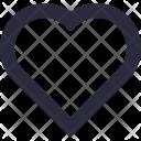 Heart Shape Like Icon