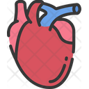Heart Organs Health Care Icon