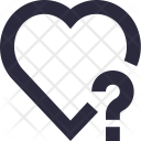 Heart Question Mark Icon