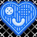 Heart Love Sausage Icon