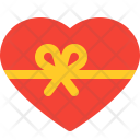Heart Ribbon Smiley Icon