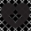 Heart Add Love Icon
