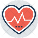 Cardiography Heart Diseases Icon