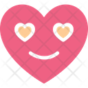 Heart Heart Smiley In Love Icon