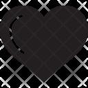 Heart Shape Love Icon