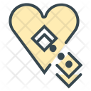 Missing Heart True Icon