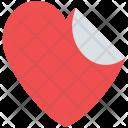 Sticker Valentine Heart Icon