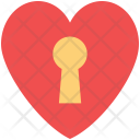 Card Letter Lock Icon