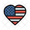 Heart Star Flag Icon